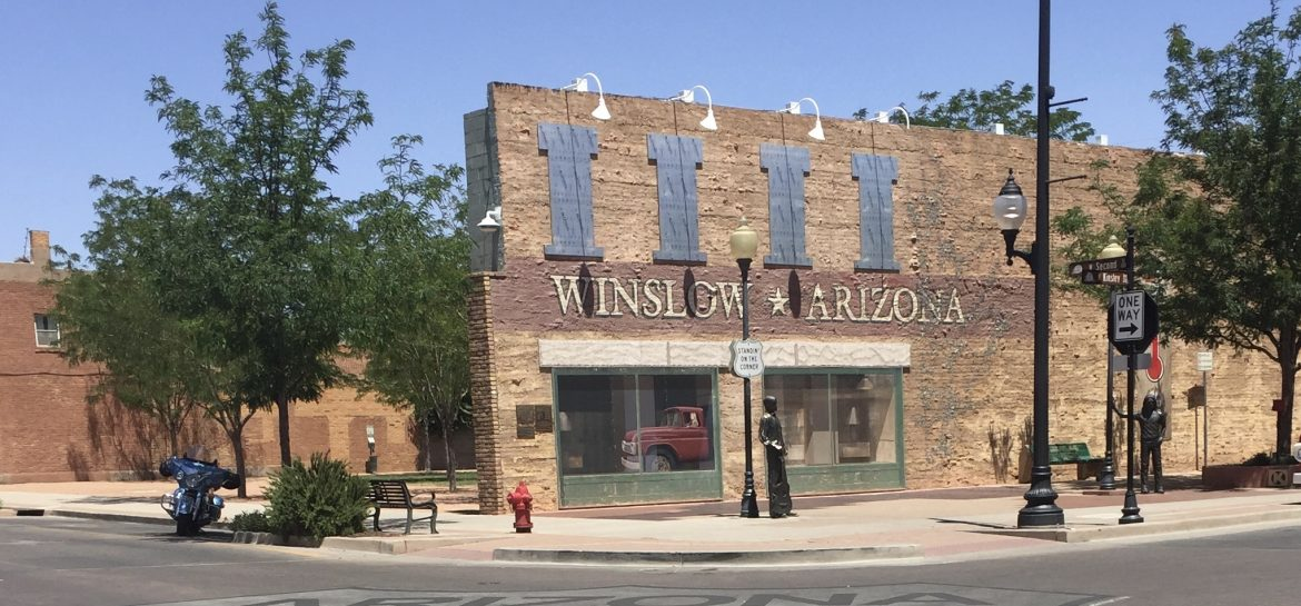 Winslow Arizona on Route 66
