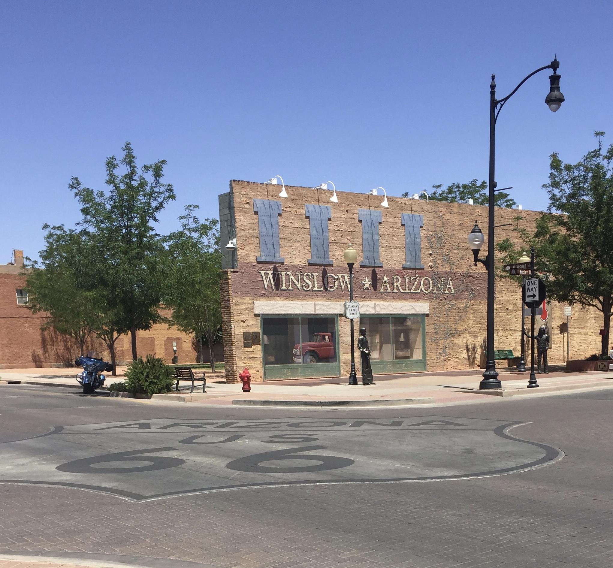 Winslow Arizona on Route 66