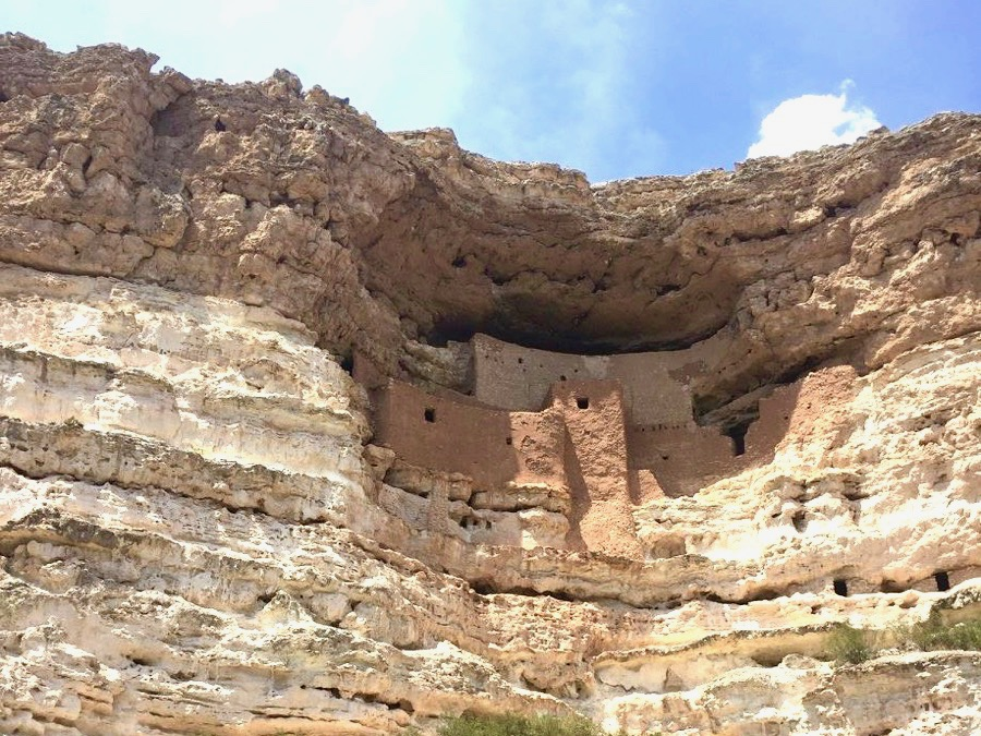 Montezuma Castle in Arizona